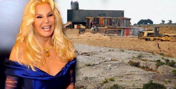 Susana Giménez con los papeles en regla, construye su mega mansión