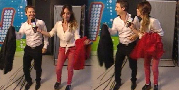 Los divertidos pasos de baile de Adrián Suar