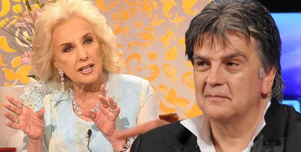Luis Ventura reveló el día que Mirtha Legrand se fue a las manos por amor