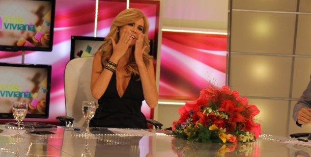 Viviana Canosa se despidió de la televisión por el 2012