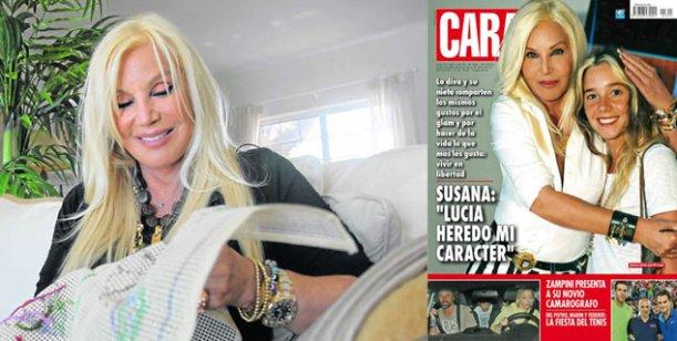 Susana Giménez y su nieta; y el novio de Carina Zampini en la tapa de Caras