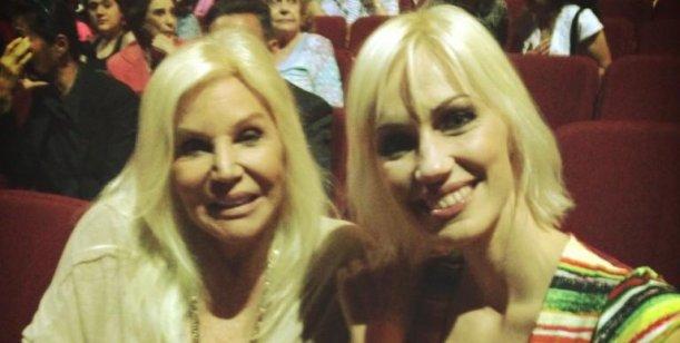 Susana Giménez y su noche de teatro con Ingrid Grudke