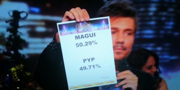 Magui y Jorge son los otros finalistas; le ganaron a Pedro y Paula