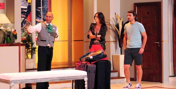 Paula Chaves y Peter Alfonso festejaron el gran debut de Viaje de Locura