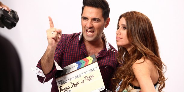 Mariano Iúdica y Florencia Peña hicieron el ensayo general de Dale, la tarde