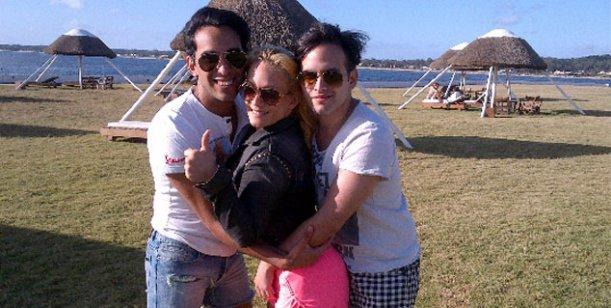 El verano hot de Eugenia Ritó y su marido