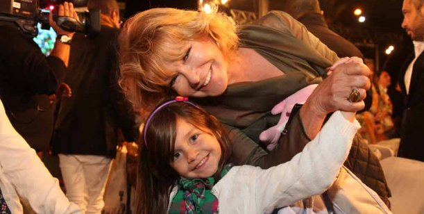 Moria, Mirtha, Carmen y muchas más, juntas en el Desfile de las Escalinatas