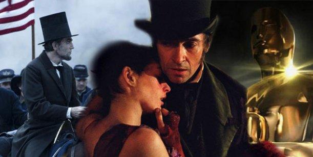 Lincoln, La vida de Pi  y Los Miserables, las películas más nominadas para el Oscar
