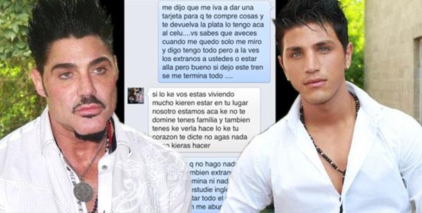 Ricardo Fort vs Rodrigo Díaz: los mensajes que perjudican al modelo