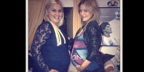 Evangelina Anderson y Verónica Ojeda esperan la llegada de sus hijos