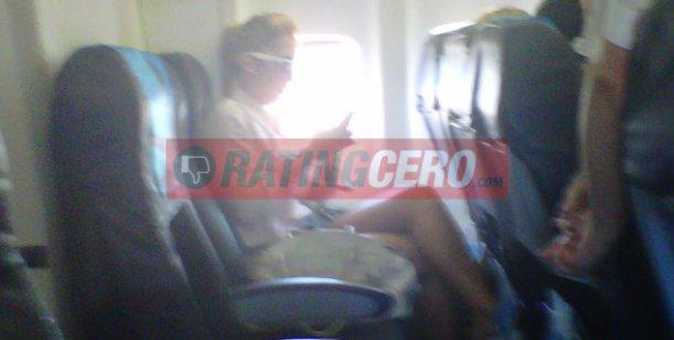 Carmen Barbieri y Ayelén Paleo vuelan hacia Mar del Plata en el mismo avión