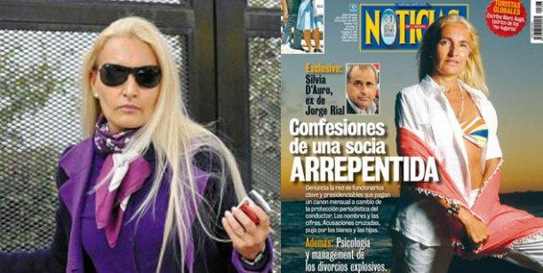 Allanan la casa y la productora de Silvia D´Auro, la ex mujer de Jorge Rial