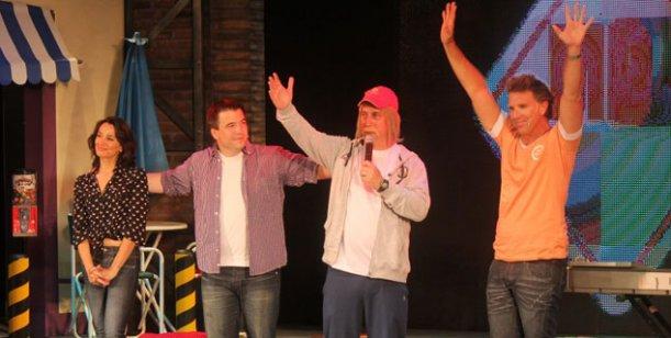 Oscar Ruggeri visitará a Fantino en Mar de Fondo, en Villa Carlos Paz