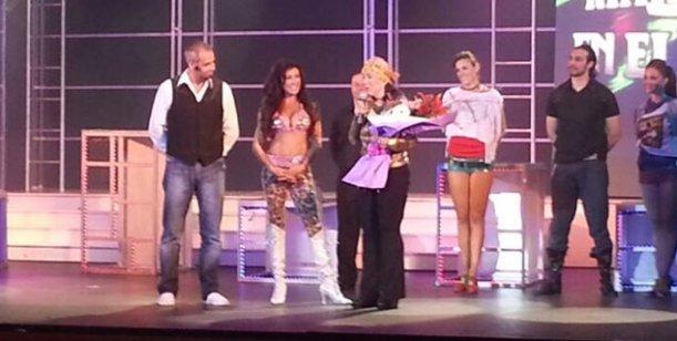 En su complicado fin de semana, Rial recibió a Graciela Borges en el teatro