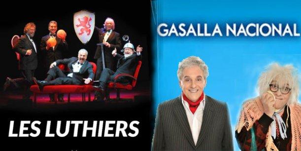 Les Luthiers y Gasalla, los dueños de la taquilla en Buenos Aires