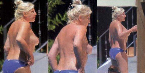 Sigue la costumbre: Susana festejó sus 69 años con un topless
