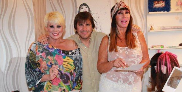 ¡Escandalosas hasta el 2015! Moria y Carmen firmaron la continuidad con Faroni