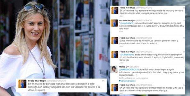 Los sugestivos tweets de Rocío Marengo: candidata política y ¿embarazada?