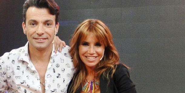 Flor Peña y Martín Bossi: encuentro al aire, cruce de teléfonos y cita pendiente