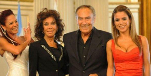 El llanto de las mujeres de Calabró por la salud de Juan Carlos