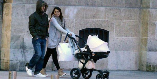 El álbum íntimo de Lionel Messi con su mujer y su hijo en Paris