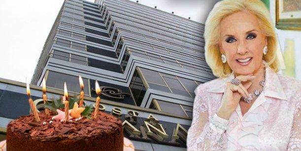 A días de su cumpleaños, Mirtha viaja a Mar del Plata a una gala benéfica