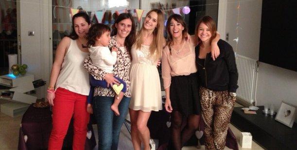 A dos meses de dar a luz, Chechu Bonelli organizó el baby shower de su hija