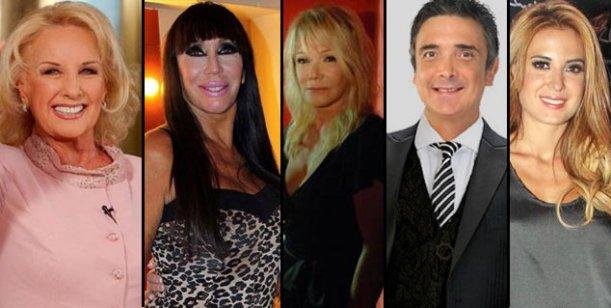 La revista Gente juntó a los famosos en Mar del Plata: Mirtha y Moria en la tapa