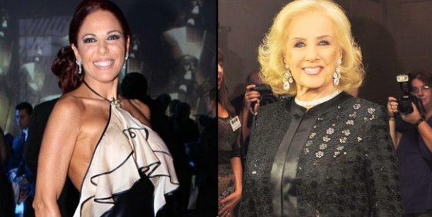 Iliana Calabró, preocupada por la salud de su padre, plantó a Mirtha Legrand