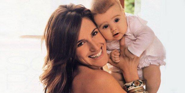 Nació Regina Audoglio, la segunda hija de la cantante Soledad Pastorutti