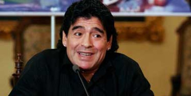 Diego Maradona no quiere ver fotos de su hijo
