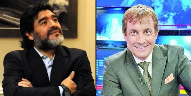 Maradona insulta de noche y se arrepiente de día: le pidió perdón a Paulo Vilouta