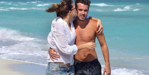 Eugenia Suárez y Cabré, festejaron su embarazo en las playas de Miami