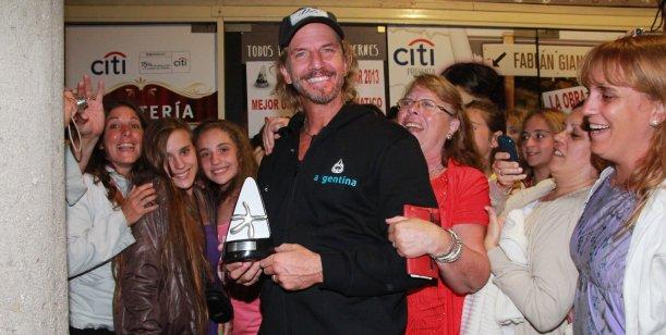 Facundo Arana, ganador del Premio Estrella de Mar