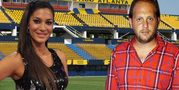 Silvina Escudero y Cayetano juntos en Buenos Aires vieron fútbol