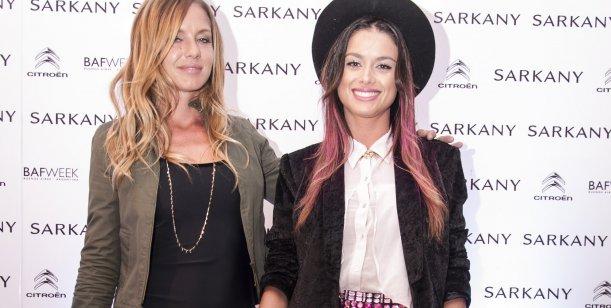 El look de las modelos en el desfile de Ricky Sarkany