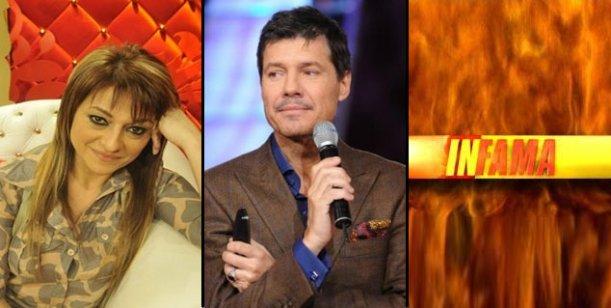 El pase de Tinelli genera tensión en la Televisión: Infama vs Marcela Feudale