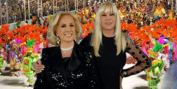 Mirtha Legrand y Susana Giménez a puro carnaval en San Luis, con altos cachets