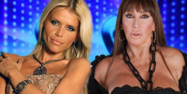 Moria Casán y Nazarena Vélez sobre un mismo escenario en Buenos Aires