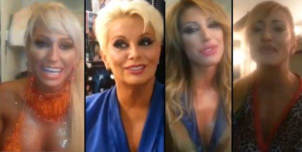 La despedida de Carmen Barbieri y su elenco de la temporada 2013