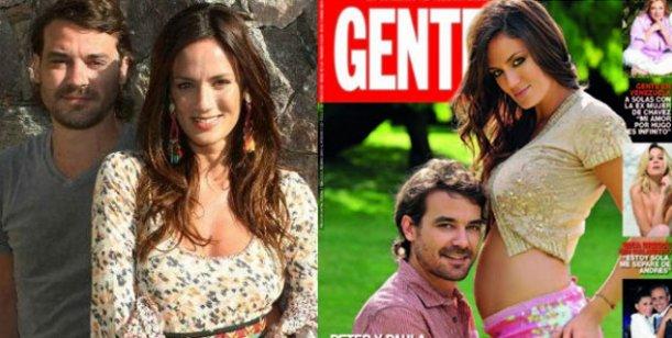 Paula y Peter anuncian boda y fecha de parto en la tapa de la revista Gente