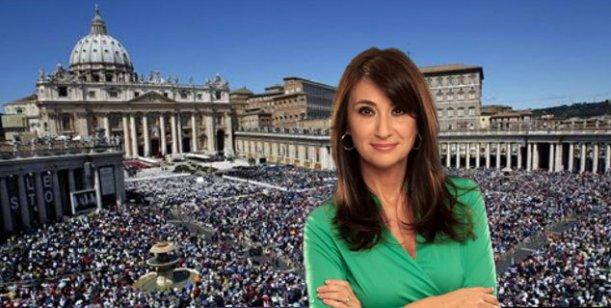 María Laura Santillán viaja a Roma para cubrir la asunción del Papa