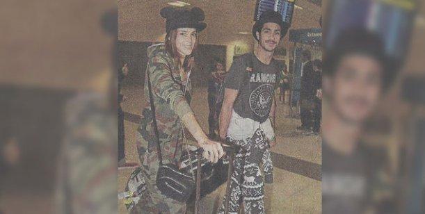 Calu Rivero y Chino Darín regresaron de su romántico viaje por el mundo