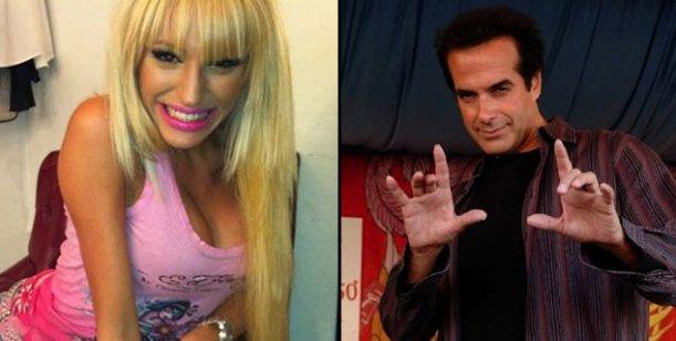 El video del romance de la griega Vicky Xipolitakis y Copperfield desde Las Vegas