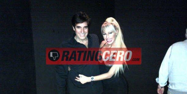 El encuentro de la griega Vicky Xipolitakis y David Copperfield en Las Vegas