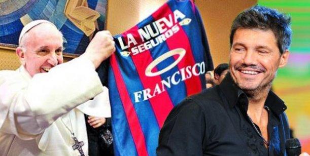 Marcelo Tinelli pidió una audiencia para entrevistarse con el papa Francisco