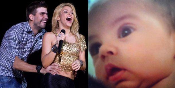 La foto más tierna del hijo de Shakira y Piqué