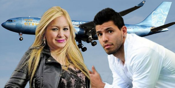 Karina viaja a Inglaterra a visitar a Aguero: Sergio se lleva bien con mi hija