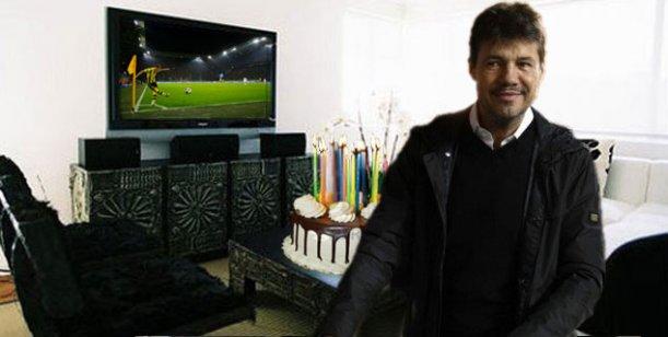 Marcelo Tinelli viaja a Europa a festejar su cumpleaños y para ver mucho fútbol