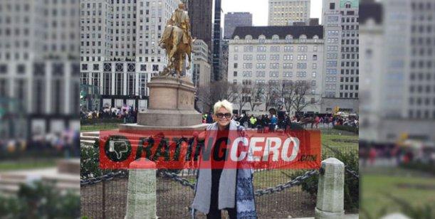El álbum de las vacaciones en Nueva York de Carmen Barbieri y su hijo Fede Bal